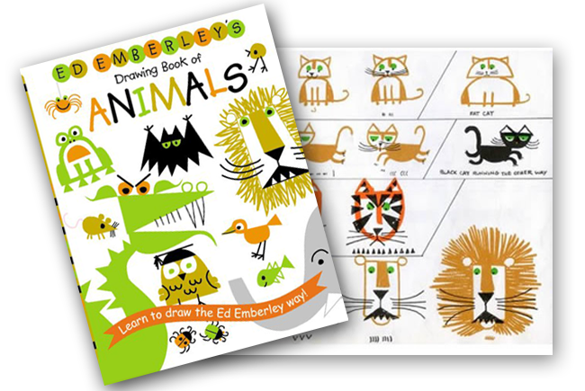 Giveaway: Ed Emberley's Drawing Animals