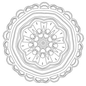 Mandala Coloring Page 37