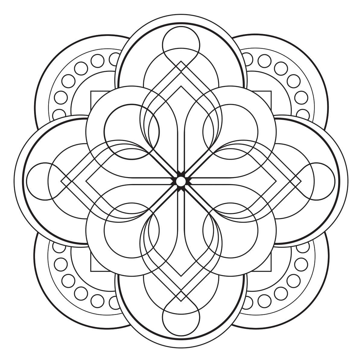 Modern Mandala 2 - Babadoodle