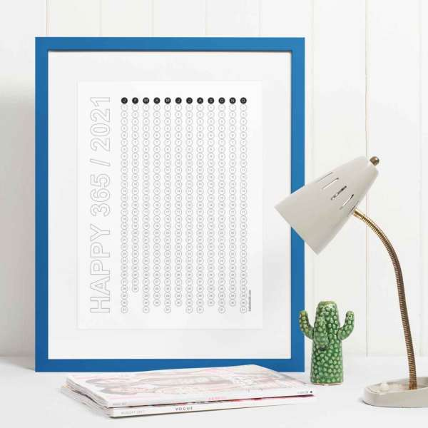 Happy 2021 Gratitude Calendar desktop